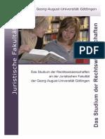 Studiengangsbeschreibung Rechtswissenschaften 2016-04-01