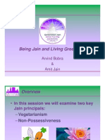 Living Jain and Being Green 7-04-08