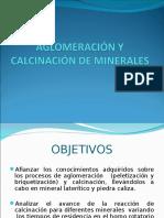 Aglomeración y Calcinación de Minerales Presentacion