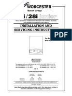 Worcester 24-28 i Junior Installation and Servicing Instructions