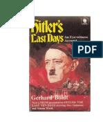 Boldt Gerhard - Yo Estuve Con Hitler - Los Ultimos Dias de La Cancilleria Del Reich