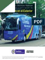 Informe Ejecutivo 2013 Vinculacion Colombianos Exterior