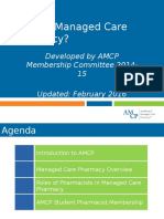 1A What is Managed Care Pharmacy - 2016