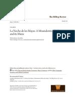 ANZALDUA - La Noche de Los Mayas a Misunderstood Film and Its Music