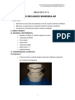 Plano Inclinado Mandibular