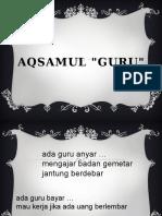 Aqsamul Guru