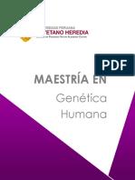 Maestría en Genética Humana