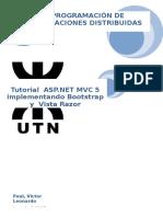 DocumentacionASP.net MVC 5 Bootstraps Vista Razor