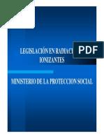 Legislacion Rad Ionizantes