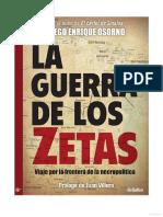 La Guerra de Los Zetas
