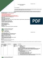 Planificación Unidad I, 5° básico