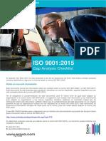 Iso 90012015 Gap Analisis