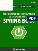 Algaworks Livro Spring Boot v2.0