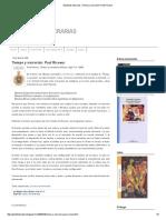 Apostillas Literarias_ Tiempo y Narración_ Paul Ricoeur