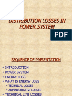 Power Distribution Losses