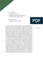 """Laura Scarano """"Los lugares de la voz. Protocolos de la enunciación literaria"""" Reseña de Elisa Calabrese, Universidad Nacional de Mar del Plata"""