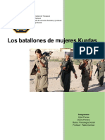 investigacion sobre el ejercito femenino Kurdo