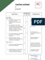 Cuestionario de Evaluacion de Control Interno