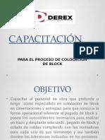 CAPACITACIÓN BLOCKERO
