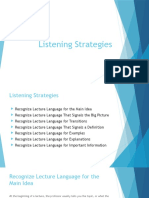 ppt 1 -listening strategies 05 09 dec