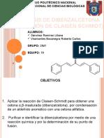 Síntesis de Dibenzalacetona