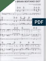 What Would Brian Boitano Do - Piano Sheet