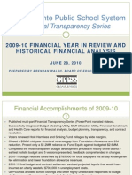 GPPSS Financial Transparency Series_2009-10 Year in Review