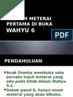 WAHYU PASAL 6