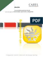 CAREL. Catálogo de selección de productos controladores para el acondicionamiento del aire sistemas para la conectividad, supervisión y telegestión