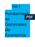 Resumen de Economia