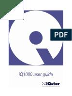 IQ1000 User's Guide