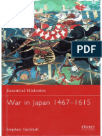 Osprey Essential Histories War in Japan 41467-1615[]