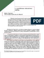 Constructivismo y Problemas Educativos, Carretero