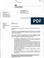 Brief Heineken Aan Kooistra 22 Juni 2010