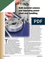 Bulk Material Science