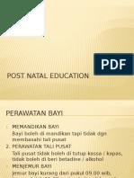 Post Natal Education