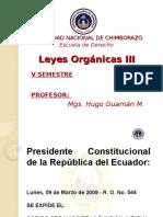 Codigo Organico de La Fj.