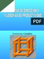 (3) Sistemas de Dirección y Filosofía de Productividad