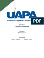 Marleny P. Diaz Propedéutico de Matemática I