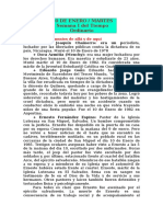 REFLEXIÓN MARTES 10  DE ENERO