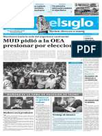Edición Impresa Elsiglo 19-01-2017