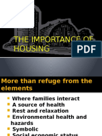 Importance of Housing IN INDIA
