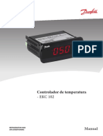 DANFOSS. Nuevos Controladores de Temperatura EKC102