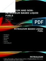 Petroleum Based Liquid Fuel