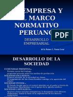 La Empresa y El Marco Normativo Peruano