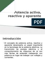 Potencia Activa, Reactiva y Aparente