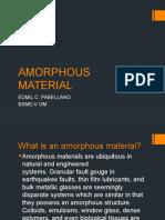 Amorphous Material