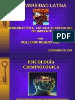 Psicologia Criminal