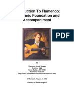 Introduction to Flamenco Rhythmic Foundation and Accompaniment