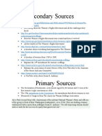 secondary and primary sources 2